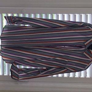 Tommy Bahama men's striped shirt.  XXL. EUC